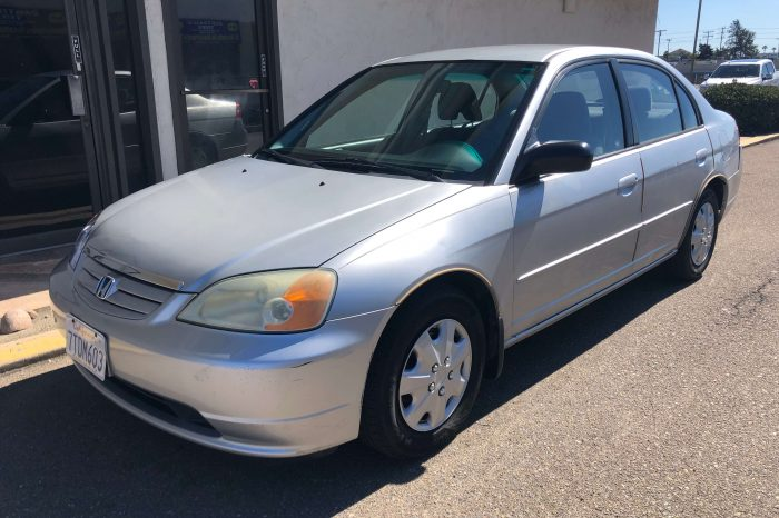 03 HONDA CIVIC (8RRY381)