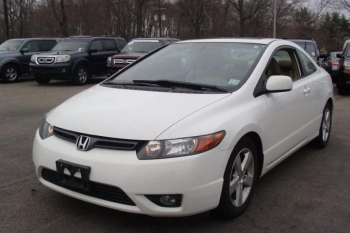 08 HONDA CIVIC COUPE (8TDP405)