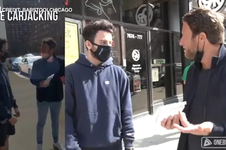 Barstool Sports' Dave Portnoy witnesses South Loop car theft during Chicago pizza review – WLS-TV